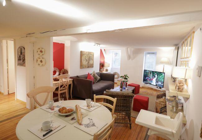 Ferienwohnung in Colmar - MARZOLFF **** 79 m² centre ville avec lift 2 chamb