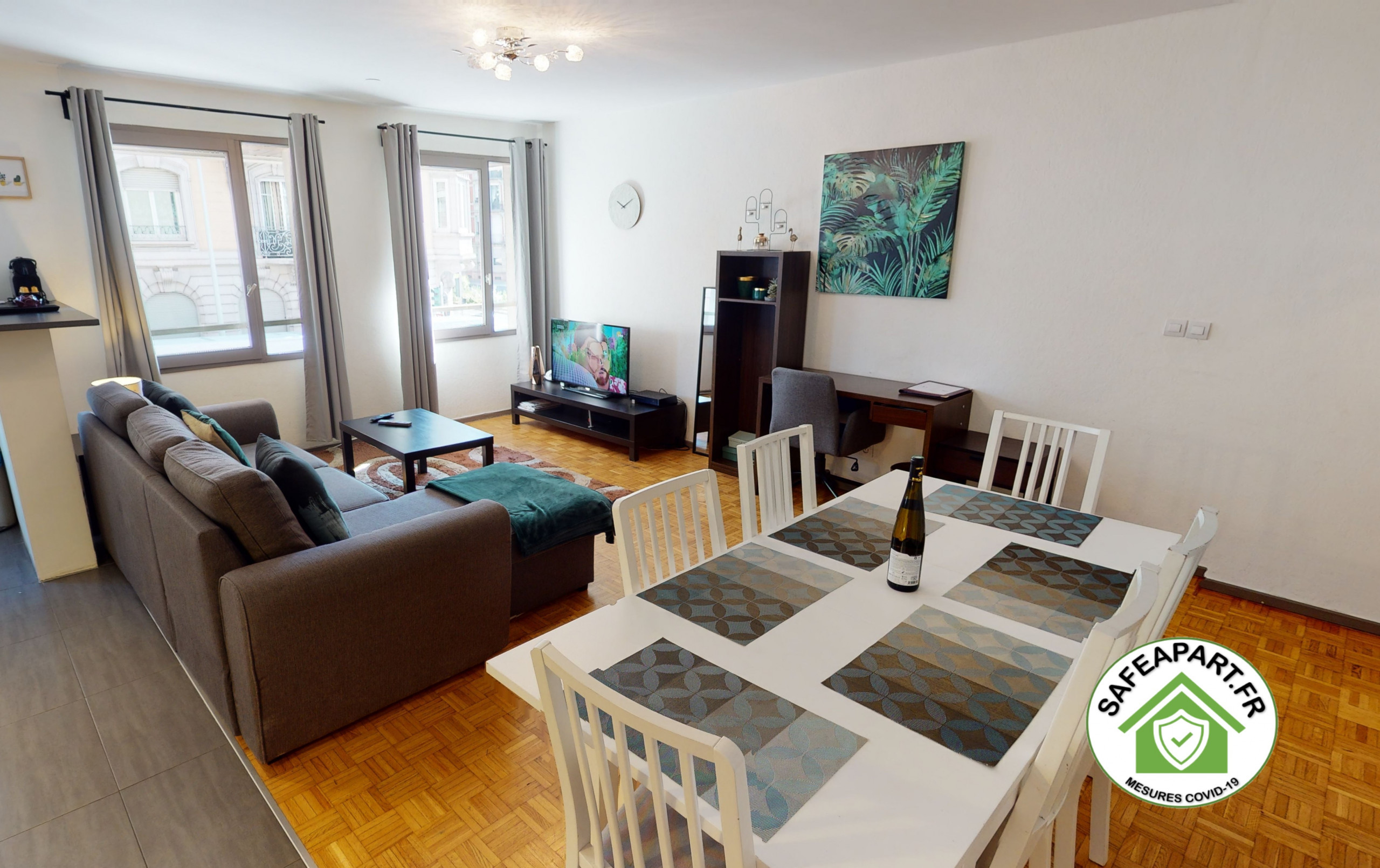 in Strasbourg - OBYHALLES *** 2 chambres + option PARKING