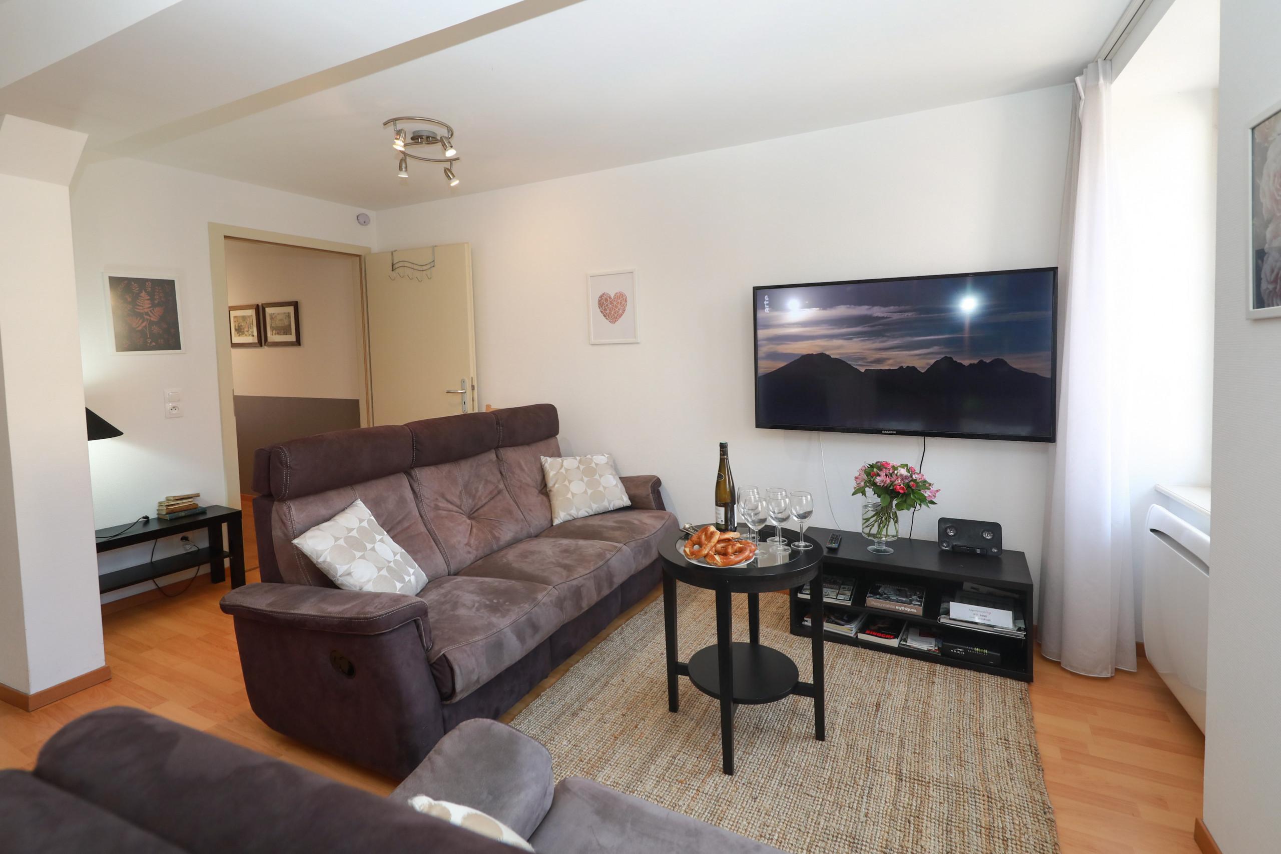 Apartamento en Colmar - LANG **** 80m² T4 centre ville ascenseur 3 chambre