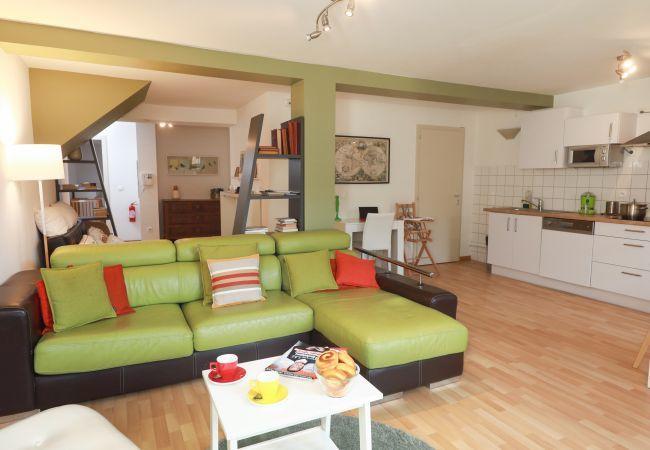 Appartement à Colmar - DOLLFUS **** 80m² T3 centre ville 2 chambres