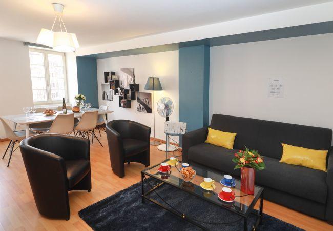 Appartement à Colmar - HARTMANN **** 80m² centre ville 2 chambres et séjo