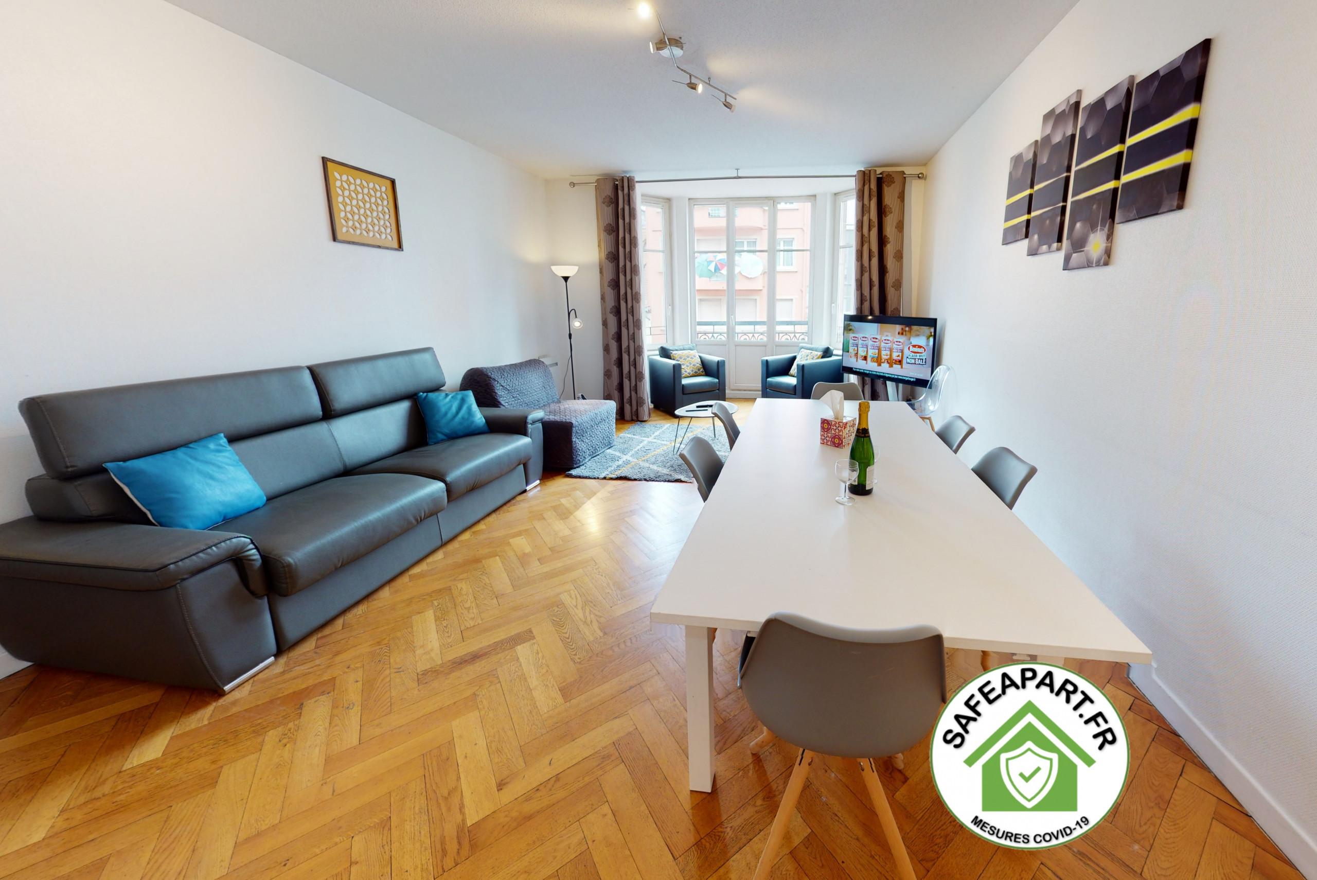 à Strasbourg - NETTER *** city center appart 2 Chambres + séjour