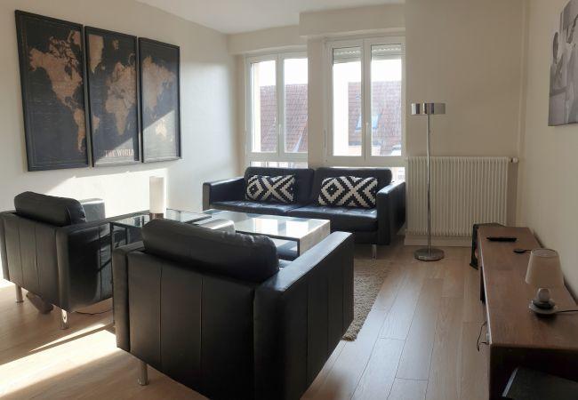 Appartement à Colmar - Triplex * centre ville, 2 chambres 2 sdb et 2 wc