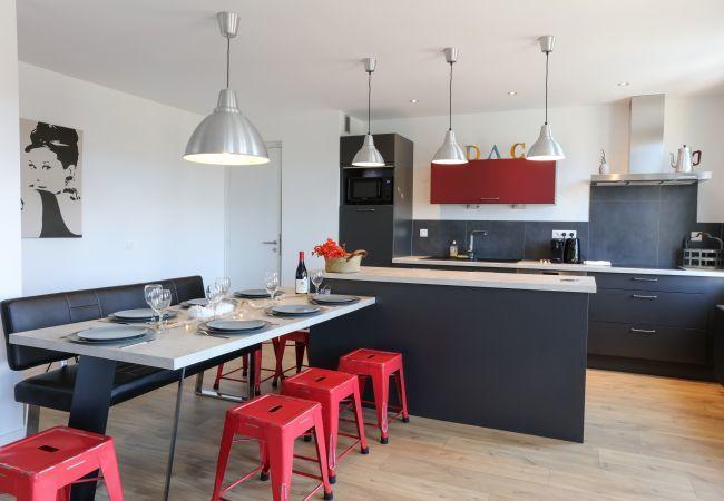Appartement à Colmar - Appartement Le K2 avec 3 chambres + 1 parking