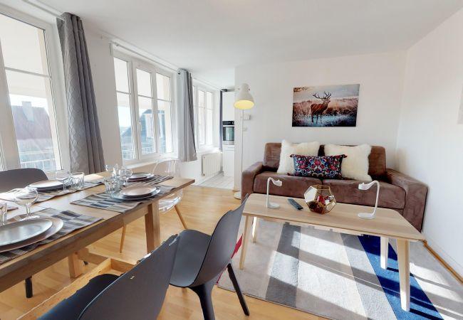 Appartement à Strasbourg - MONTANA*** city center appart 3 Chambres + séjour