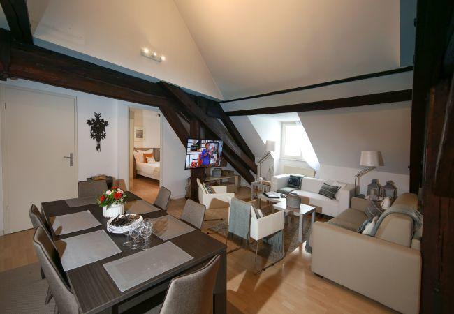 公寓 在 Colmar - BAUMGARTNER **** 117m² centre ville 3 chambres 2 s