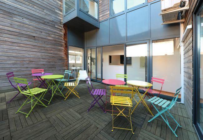 公寓 在 Colmar - BARTHOLDI **** duplex centre ville 165m² CLIM 4ch
