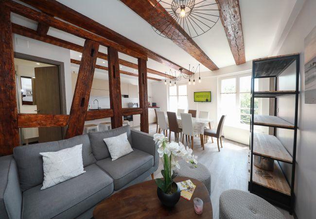 公寓 在 Colmar - Chez Anne Sophie *** 4 rooms 2 bathrooms city cent